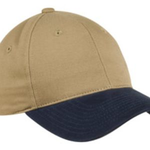 Two Tone Brushed Twill Cap Thumbnail