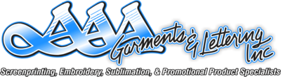 AAA Garments & Lettering, Inc. Superior Printing Services in Sacramento, CA
