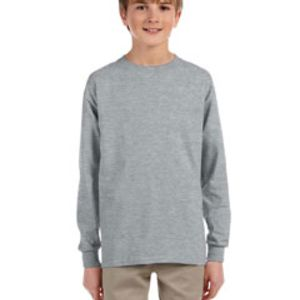 Youth 5.6 oz. DRI-POWER® ACTIVE Long-Sleeve T-Shirt Thumbnail