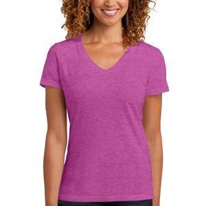 Ladies Perfect Blend ® V Neck Tee Thumbnail