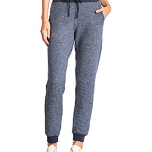 Ladies' Denim Fleece Jogger Pant Thumbnail