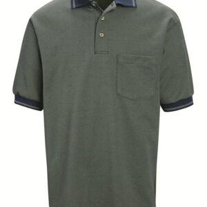 NWT Red Kap Performance Knit Twill Weave Polo SK52 Shirt Black Men Size S,M