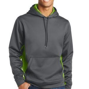 Sport Wick ® CamoHex Fleece Colorblock Hooded Pullover Thumbnail